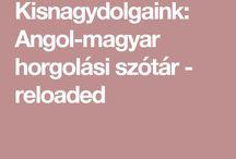 horgolási szótár
