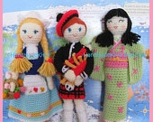Crochet - Going Dutch - Tulips ,Windmills , Clogs , Hats