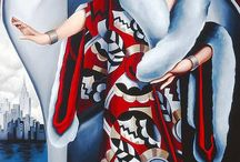 Catherine Abel art- deco painter / Cateherine Abel art - deco painter