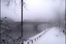 Τοπια... Χιονισμενα, ομιχλης,σκοτεινα,νυχτας