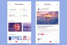 App desig / App design