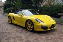 Porsche Boxster ( 981type ) Test Car / Newボクスターの試乗車です。  Boxster 2.7 右ハンドル 7速PDK  詳しい使用やご試乗のご希望は www.kobe-porsche.jp 078 ( 845 ) 2048