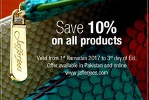 Save 10% This Ramadan on all Jafferjees Products.