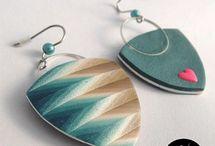 Earrings : Polymer Clay