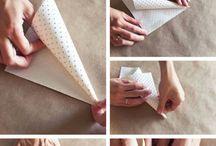 Paper craft stuff