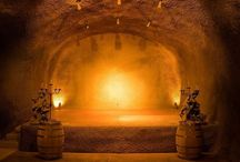 Caves At Clos / Within the award-winning Michael Graves designed winery are 20,000 square feet of caves dug into the volcanic knoll that is immediately behind our winery. The caves are both a working cellar and celebrate the enjoyment of wine. Book your cave experience now.