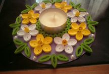 bougeoirs quilling