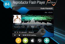 Reproductor Flash Player AACPlus #4 / Reproductor Flash Player AACPlus #4 gratis de SurDataCenter®, permite reproducir su streaming (radio por internet) de alta calidad Eficiencia sin necesidad de instalar ningun plugin y/o programa adicional.