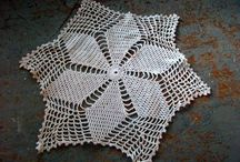 Vintage Linens / Handkerchiefs, Doily's, Table Runners, Dresser Scarfs, Baby Clothes, Table Clothes, Napkins, Fabric, Crochet, Linen, Embroidery,Lace / by The Back Shak