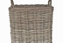 Storage Baskets / Diggory Clients, have a look at these storage solutions, from practical plastic to attractive wicker and rattan. They should help to give you some idea of what you are looking for to help keep your home organised and clutter free.