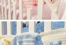 Hæklet babytøj/ting