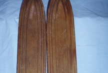 Wood Snow Skis / by Hillary Humberson | Author, Photographer, Gardener, Bible Study AND Food Junkie!