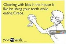 Cleanng With Kids In The House Is Like ...,  Click the link to view today's funniest pictures!