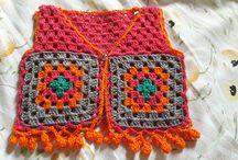 Crochê e tricô do tempo da vovó / Trabalhos manuais feitos por mim.