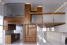 interiors // wood / examples of wood usage in interior design