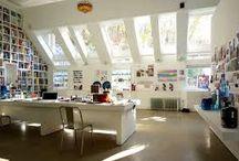 Craft Rooms & Design Workspaces