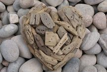 Sticks and Stones. / Driftwood, Pebbles, and Small Stones / by Alpha Betsy