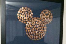 'A'  - Disneyland - Kids' Board