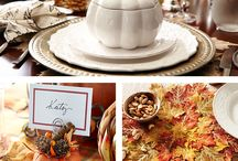 Thanksgiving Entertaining / It's time to gather with family and friends to appreciate the little things—like sharing a meal together, laughing about favorite memories, making Christmas plans—or maybe nodding off during a football game. Explore these ideas to give each guest a warm welcome. / by Pier 1 Imports