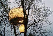 About nice #treehouses / Arbre-maison