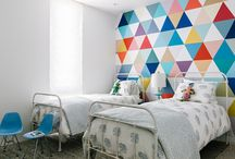 triangles wall