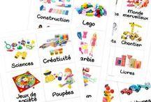 étiquettes jouets