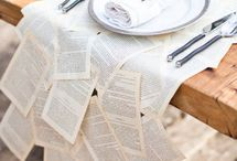 Literary Inspired Wedding / All things Books and Love!