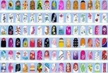 Sacando las uñas / Nail polish Nail Art