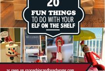 Elf on the shelf ideas / by Angie Keen