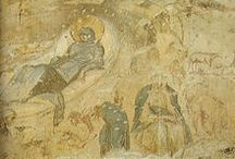The Birth of Christ in Art / Famous paintings of nativity scenes from the early Middle Ages until now.