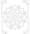 pricking card patterns