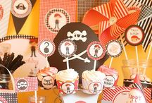 Pirate And Mermaid Party Ideas / Inspirational Ideas for a Pirate or Mermaid Party!