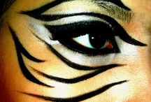 zebra makeup halloween