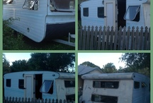 "Caravan Restoration ""The Tin Snip Hairoom"" / A story of a 1960's caravan's transformation into a ""Hairoom"""
