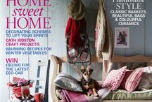 Country Living UK 2012 covers