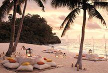 Garden and Beach party ideas