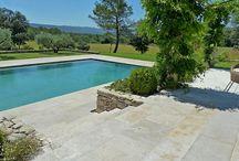 Revêtement piscine terrasse