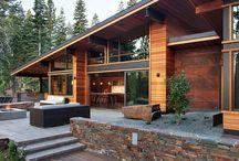 Mountain cabana
