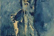 Picasso kék korszak
