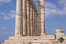 Temple of Poseidon in Athens, Greece