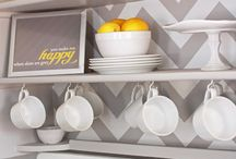 Yellow & Gray Kitchen