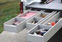 Vehicle Bakkie Storage