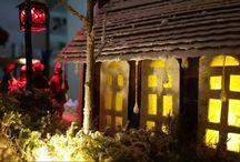 PUTZ, Christmas Village, Navidad, Natal / PUTZ, CHRISTMAS VILLAGE, CASITAS NAVIDEÑAS, NATAL, NAVIDAD
