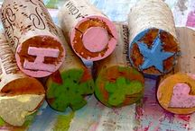 Saving My Wine Corks For a Reason / I knew there was a reason I saved all my wine corks!