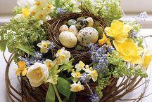 Pasqua Decorazioni Fiori