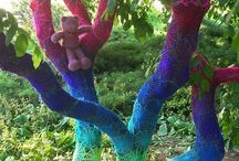 Crafty - Yarnbombs / by Martha Hall