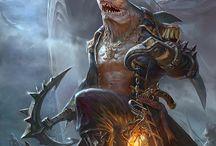 RPG Fantasy - Tritões e Sereias