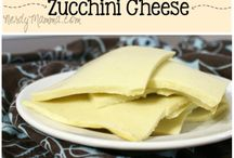 Cheese diary free (Zucchini/agar-agar)