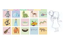 LoveYourLingo Products / Beautiful multilingual products to inspire your little linguist. Multilingual alphabet poster, ebook and activity kit to make life simpler for bilingual children. Create a positive language environment in your home with cute bilingual wall art. All available on my site www.loveyourlingo.com