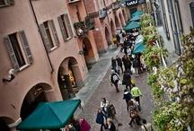 Alba  / White truffles town . Piedmont Italy
